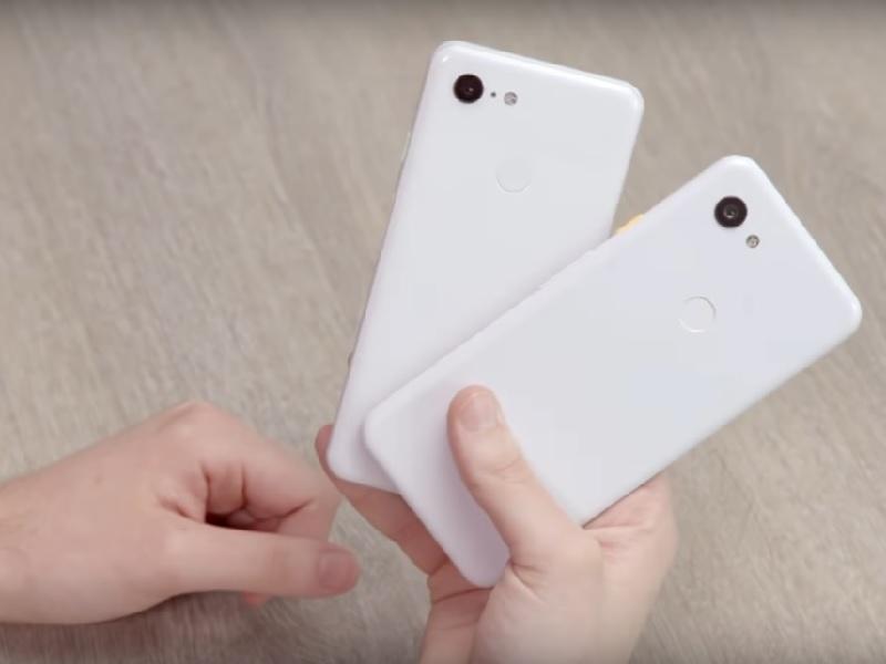 Google pixel 3 und Google pixel 3a