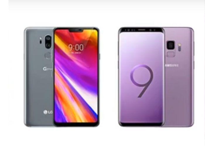 lg g7 thınq vs galaxy s9